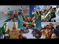 Power Rangers - All Neo-Saban Ultrazords   Samurai, Megaforce, Dino Super Charge, & Ninja Steel