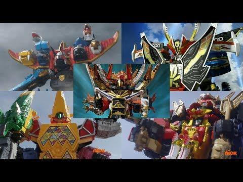 Power Rangers - All Neo-Saban Ultrazords | Samurai, Megaforce, Dino Super Charge, & Ninja Steel