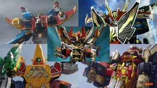 Power Rangers - All Neo-Saban Ultrazords | Samurai, Megaforce, Dino Super Charge, & Ninja Steel