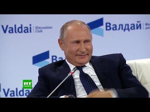 Vladimir Poutine participe à la 15e réunion annuelle du Club Valdaï à Sotchi