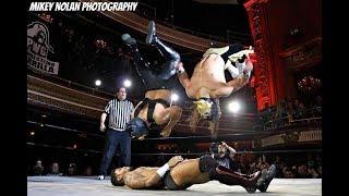 Bandido & Flamita vs Desmond Xavier & Zachary Wentz PWG Time Is A Flat Circle Highlights