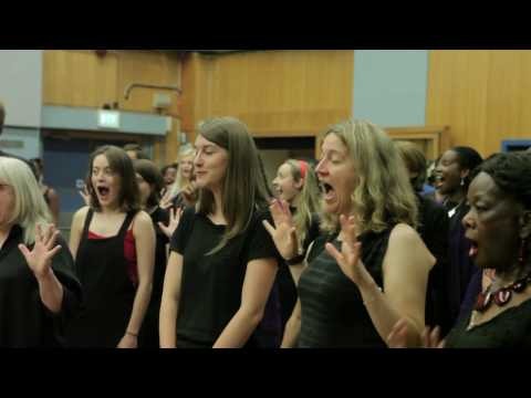 CK Gospel Choir - Abbey Road recording 2016 - behind the scenes