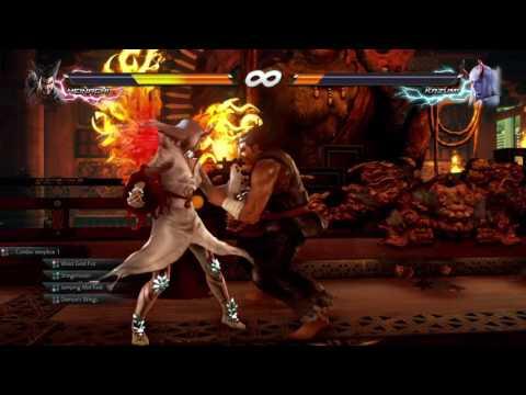 TEKKEN™7: Heihachi vs Devil Kazumi + Heihachi's rage art