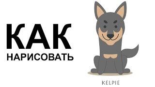 Собаки карандашом. КАК НАРИСОВАТЬ СОБАКУ поэтапно(Как нарисовать собаку поэтапно карандашом для начинающих за короткий промежуток времени. http://youtu.be/nSmZcZst5nU..., 2015-06-25T08:56:51.000Z)