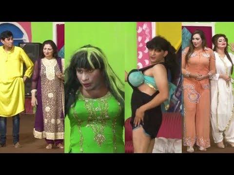 Amjad Rana And Abida Baig With Azeem Vicky New Stage Drama 2020 - Full Comedy Clip 2020