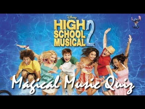 Magical Music Quiz High School Musical