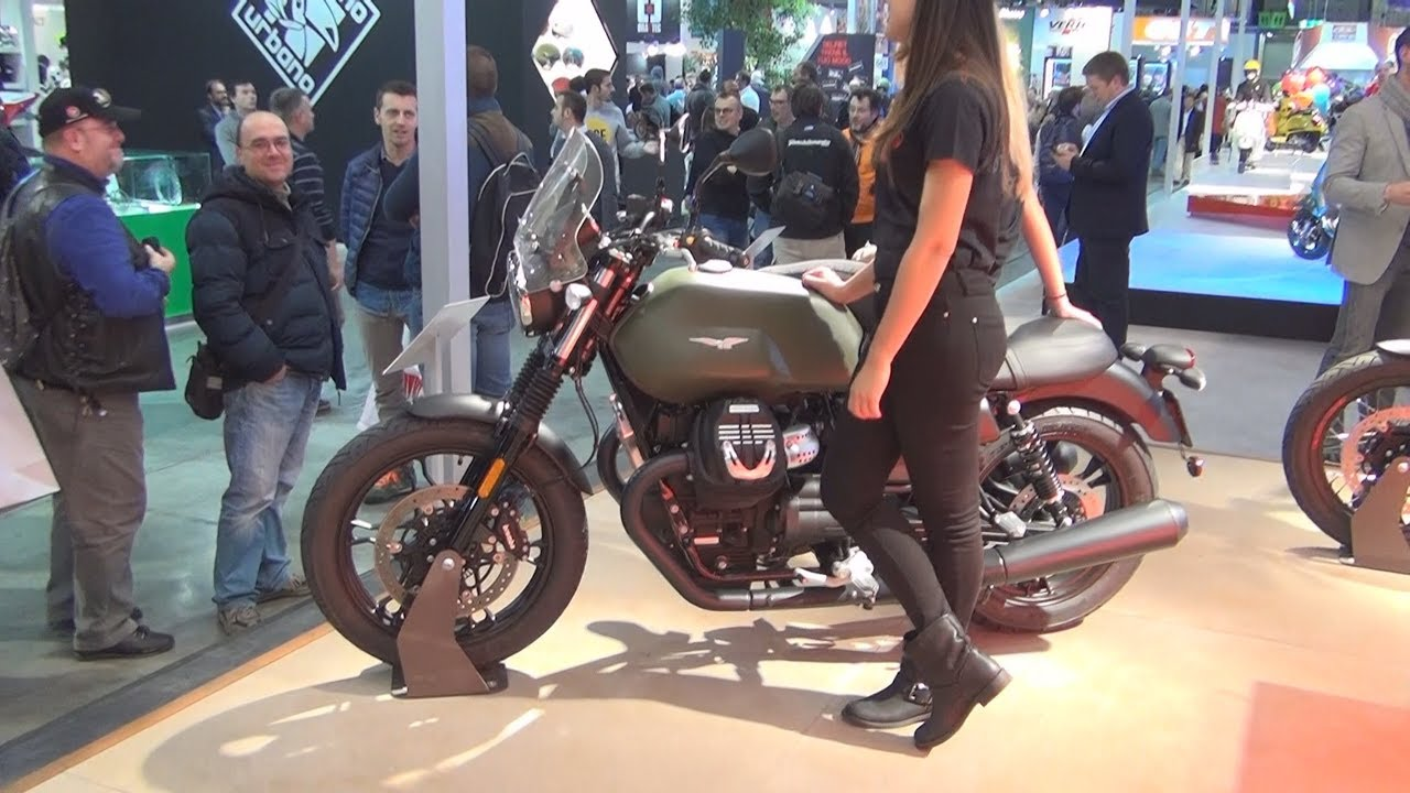 Moto Guzzi V7 Iii Stone Verde Camouflage 2017 Exterior And