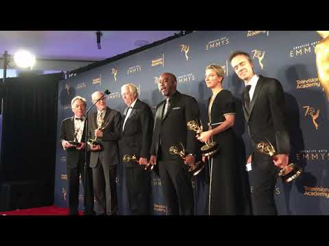 Creative Arts Emmys 2018: EGOT Winners John Legend, Andrew Lloyd Webber, Tim Rice Backstage