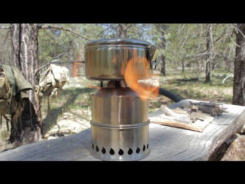 SilverFire Scout Stove 304SS