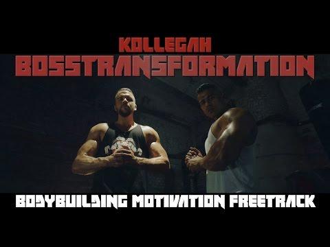 KOLLEGAH - BOSSTRANSFORMATION Musikvideo (Bodybuilding Motivation Freetrack)