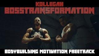Repeat youtube video KOLLEGAH - BOSSTRANSFORMATION Musikvideo (Bodybuilding Motivation Freetrack)