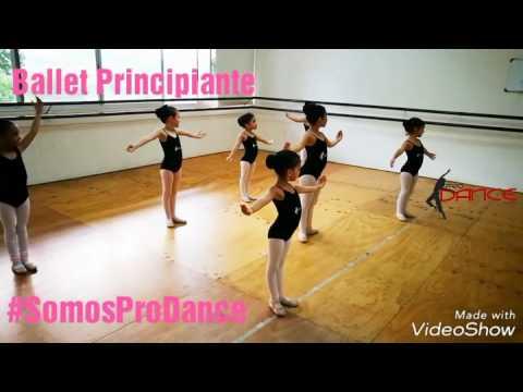 Pro Dance - Clase Ballet Principiante - Port de Bras