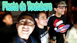 fiesta de Youtubers Kike Jav Diego Villacis EsquesoyBrandon / Peke Raffa