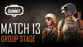 FACEIT Global Summit - Day 3 - Group Stage - Match 13 (PUBG Classic)