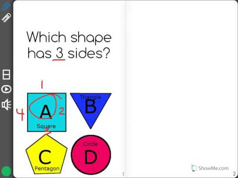 [K.G.1-1.1] Names Of Shapes - Common Core Standard