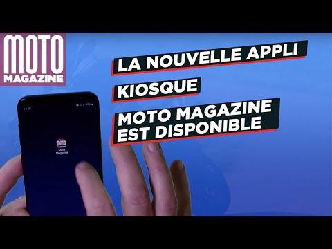 Nouvelle Appli kiosque Moto Magazine