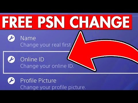 How To Change Your PSN ID For Free