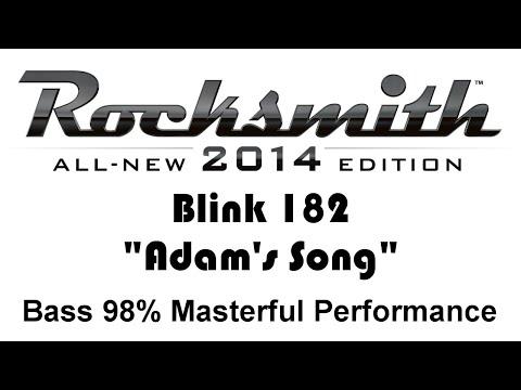 Blink 182 Adams Song Rocksmith 2014 Bass 98% CDLC