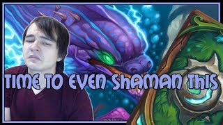 Time to even shaman this | The Witchwood | Hearthstone