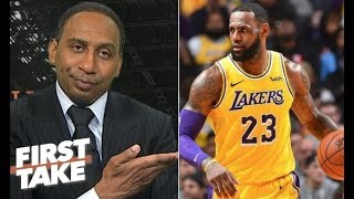 Stephen A. Smith this is Why LeBron James is the NBA MVP so far?