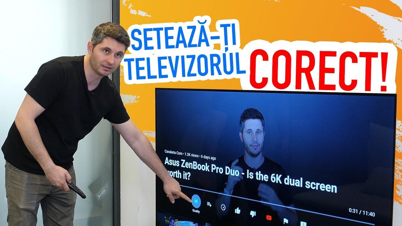 SETEAZĂ-ȚI TELEVIZORUL CORECT - Cavaleria.ro