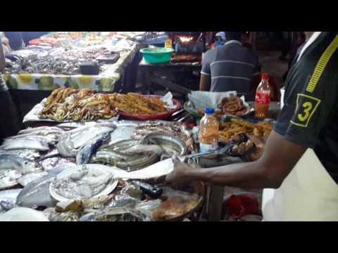 Open Seafood Market at Cox`s Bazar, Bangladesh by Masud Karim