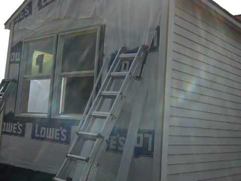 Cedar Lap Siding Installation Part 1 Youtube