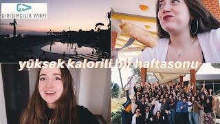 2 GÜNDE 10 KİLO ALMAK | Girişimcilik Vakfı Antalya Kampı Video