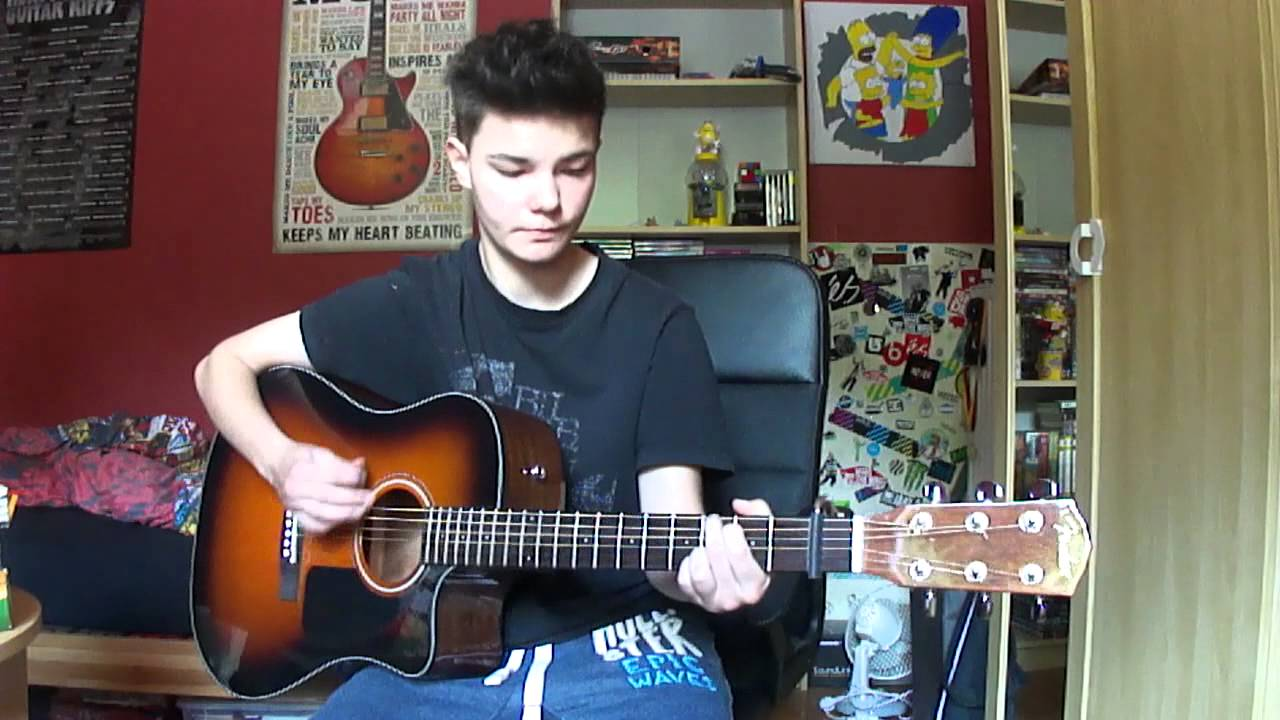 Sia-Chandelier (Acoustic Guitar Cover) - YouTube
