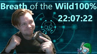 Breath of the Wild 100% in 22:07:22