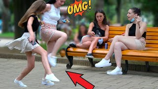 🔥Tripping Over Nothing Prank #4- AWESOME REACTIONS -Best of Just For Laughs 😲🔥
