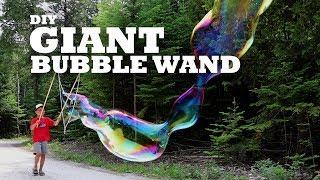 DIY Giant Bubble Wand