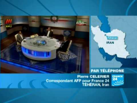 IRAN: Débat Mousavi-Ahmadinejad