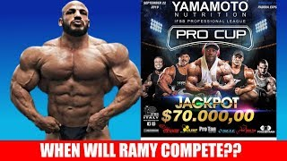 when will big ramy compete again