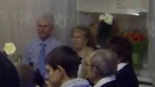 Золотая свадьба. Поздравление родных.( 3 серия)