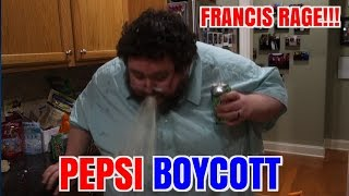 FRANCIS RAGES ABOUT PEPSI ADS!  BOYCOTTS! thumbnail
