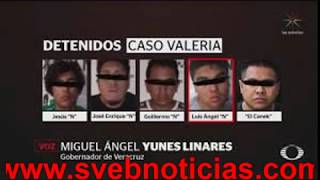 Yunes linares confirma salen libres 4 de los 5 detenidos por asesinato de Valeria Cruz Medel
