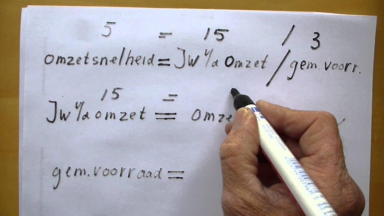 Formules die worden gebruikt bij het voorspellen van gegevens
