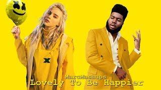 Lovely To Be Happier Marshmello, Bastille, Billie Eilish Khalid Mashup.mp3