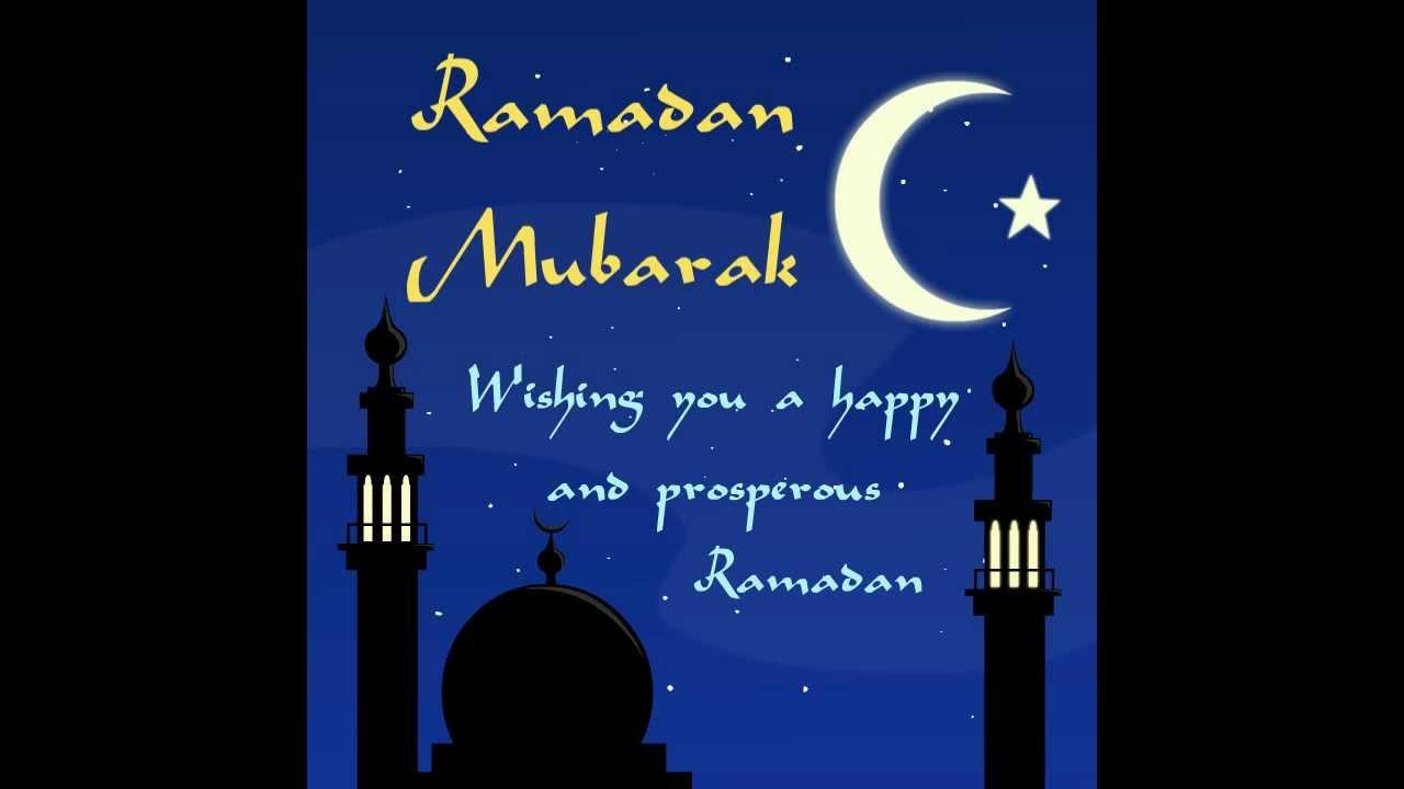 Ramadan Mubarak Animated Card Youtube