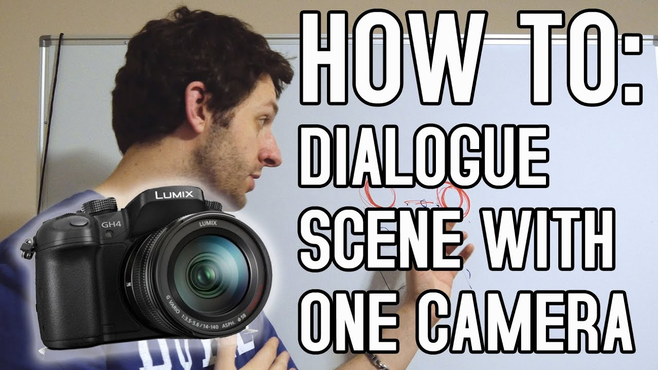 How to shoot a scene with one camera tutorial youtube how to shoot a scene with one camera tutorial ccuart Gallery