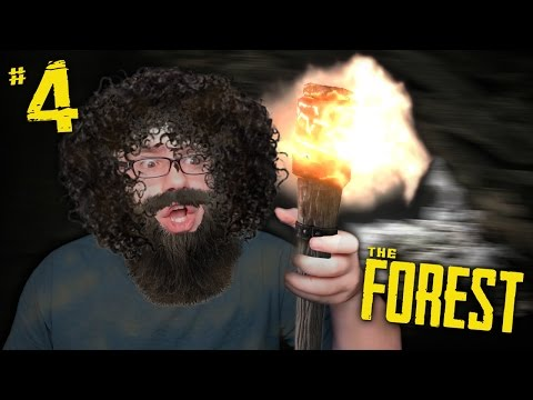 I HAVE BECOME A CAVEMAN!! | The Forest #4