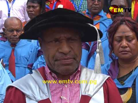 Twenty Government Officers graduated in fields of Public Policy and Management at UPNG