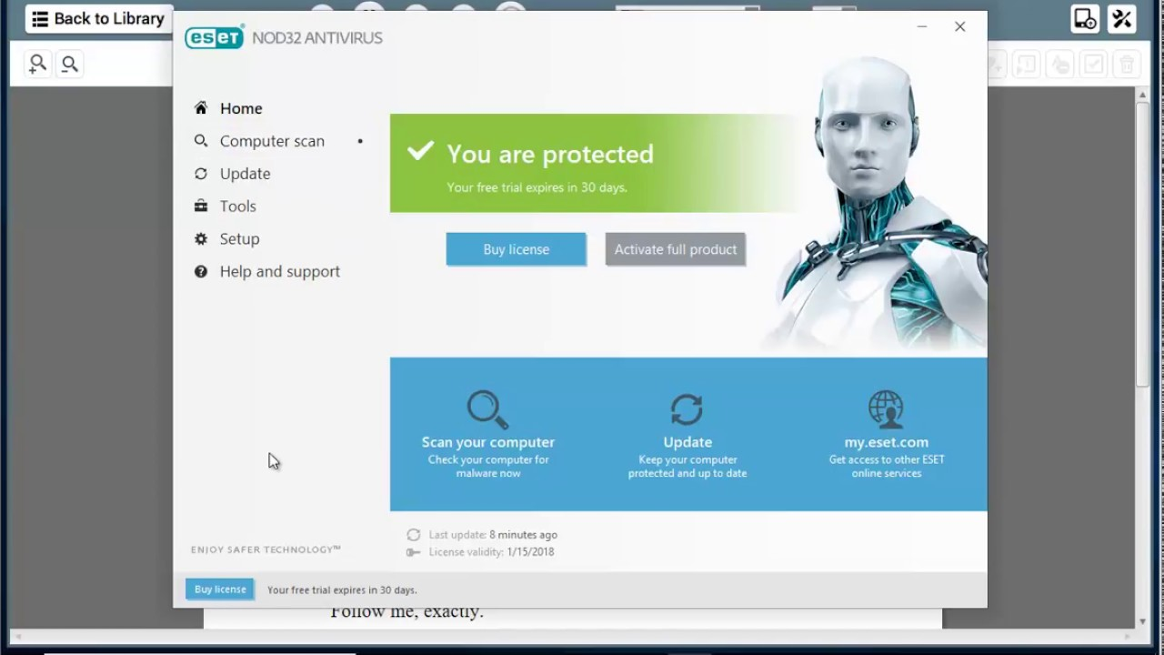 Download ESET security products