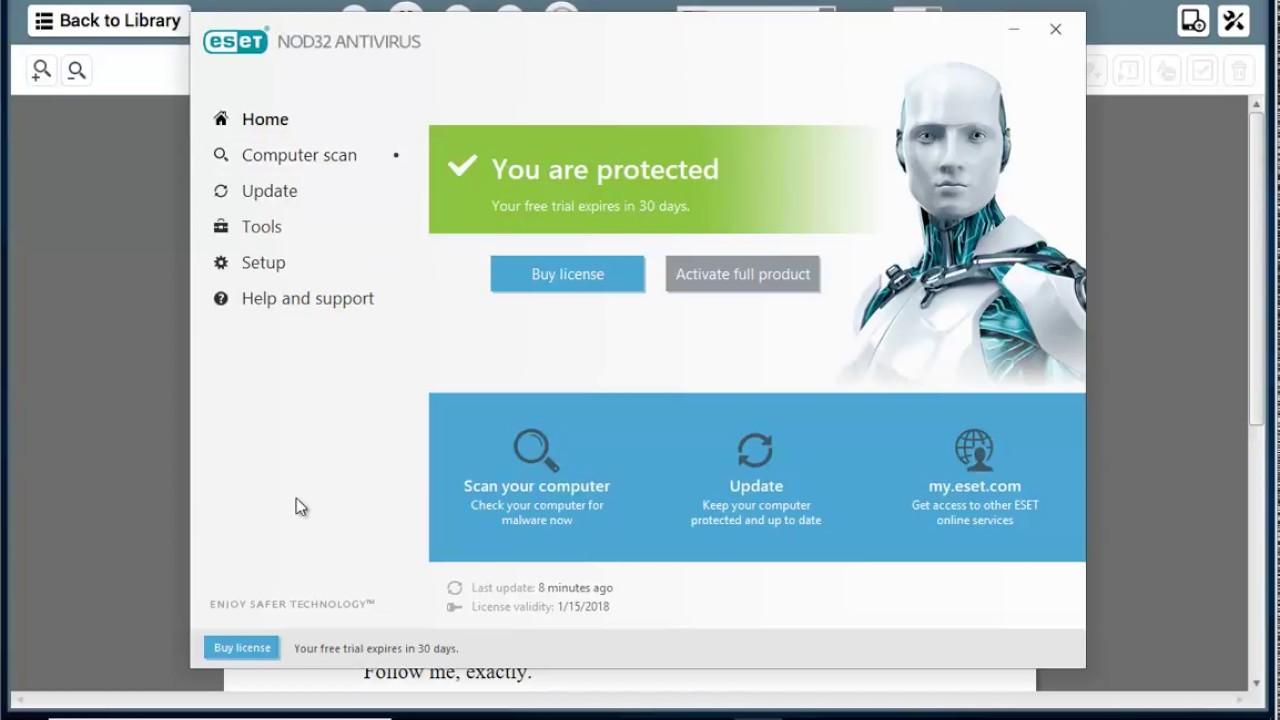 Risultati immagini per eset nod32 antivirus