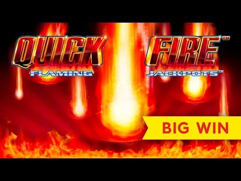 UP TO $10 BETS! Quick Fire Flaming Jackpots Electric Boogaloo Slot! - 동영상