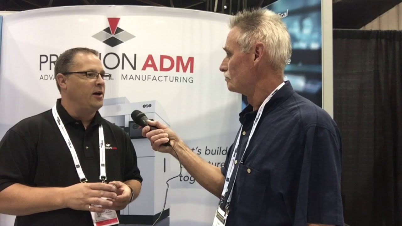 Ian Klassen With Precision ADP Discusses Additive Manufacturing