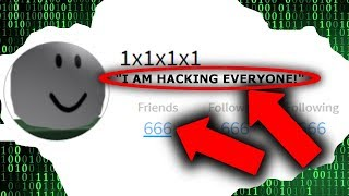 1x1x1x1 IST UNBANNED UND GOING TO HACK ROBLOX!!