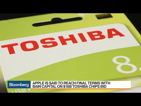 Apple Agrees to Terms With Bain's Bid for Toshiba