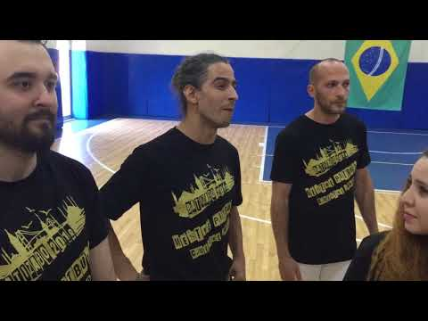 Samba Lê Lê Bateu Na Porta Capoeira Music Mestre Pitbull C.Mestre Santo Jacobina Arte  Turquia